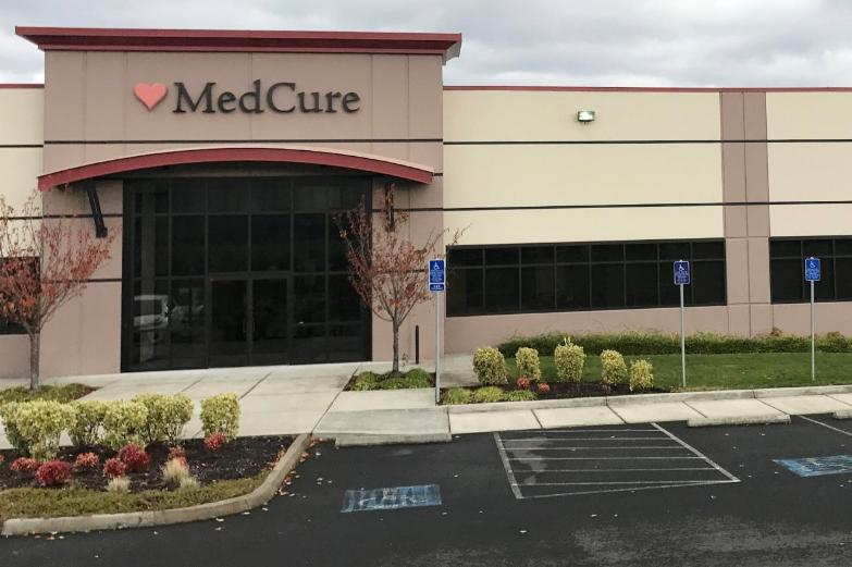Trụ sở MedCure Inc ở Portland, Oregon (Mỹ). Ảnh: REUTERS