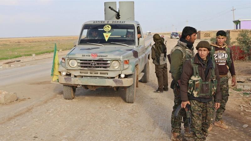 Các tay súng người Kurd (YPG) ở Syria bị Thổ Nhĩ Kỳ xem là khủng bố. Ảnh: REUTERS