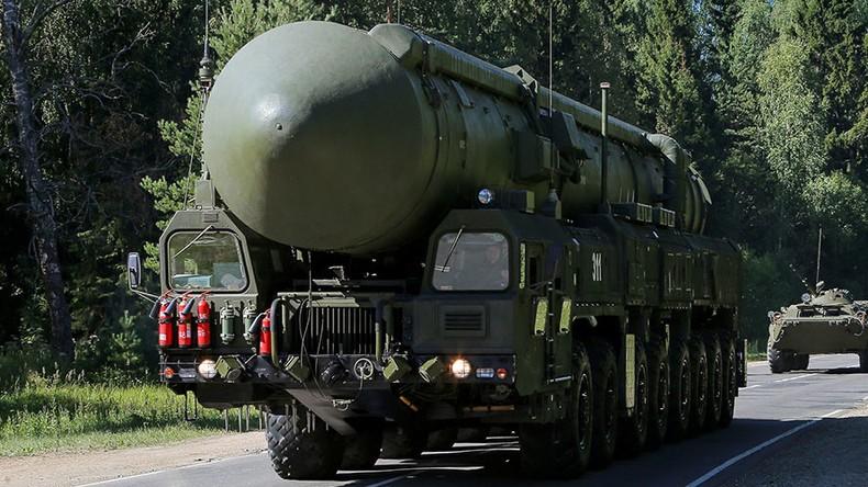 Hệ thống tên lửa đạn đạo xuyên lục địa Yars S-24 của Nga có tầm bắn tới 12.000km. Ảnh: GLOBAL LOOK PRESS