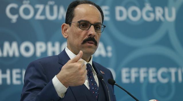 Ông Ibrahim Kalin, người phát ngôn tổng thống Thổ Nhĩ Kỳ cho biết đã chiếm hơn 70% Afrin (Syria). Ảnh: AP