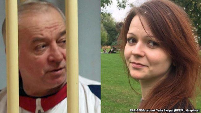 Hai cha con cựu điệp viên người Nga Sergei Skripal. Ảnh: EPA