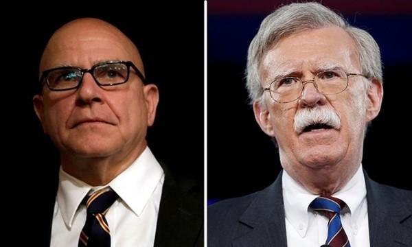 Thay thế vị trí Cố vấn An ninh Quốc gia của ông H.R. McMaster (trái) sẽ là ông John Bolton. Ảnh: REUTERS