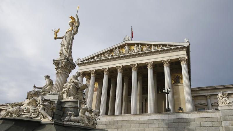 Quốc hội Áo ở Vienna (Áo). Ảnh: REUTERS