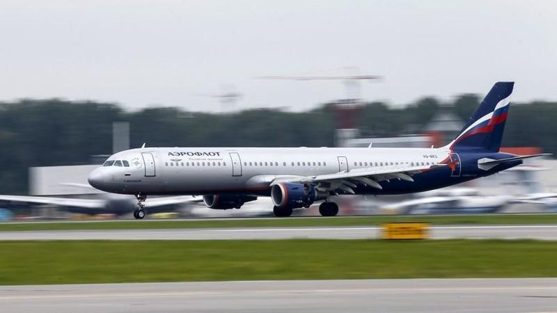 Một máy bay của hãng Aeroflot (Nga). Ảnh: REUTERS