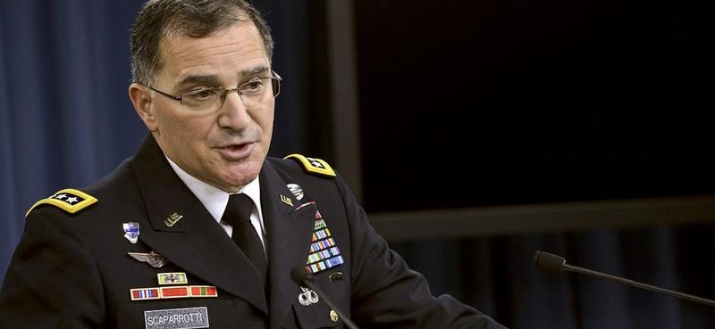 Tư lệnh tối cao NATO tại châu Âu Curtis Scaparrotti. Ảnh: RUSSIA MATTERS