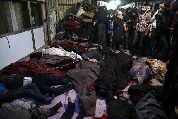 Mỹ liên minh Anh, Pháp đánh Syria - ảnh 1