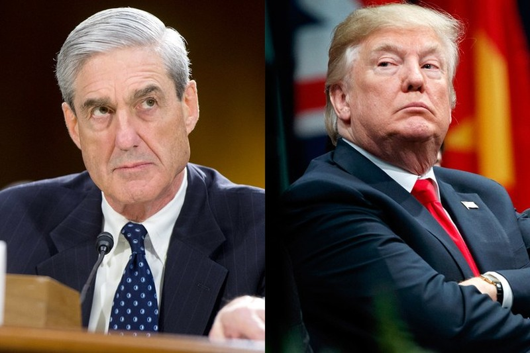 Công tố viên đặc biệt Robert Mueller sẽ không buộc tội được Tổng thống Donald Trump dù có đủ chứng cứ vì vướng nguyên tắc của Bộ Tư pháp. Ảnh: VANITY FAIR
