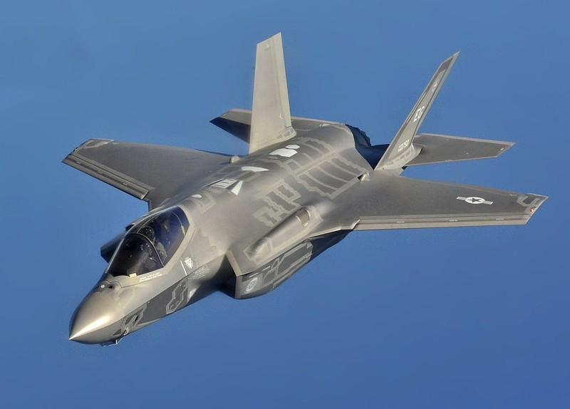 Máy bay tiêm kích tấn công F-35 của Mỹ. Ảnh: WIKIPEDIA