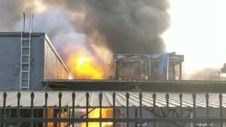 Nhà máy hóa chất Yibin Hengda Technology phát nổ làm 19 người chết, 12 người bị thương. Ảnh: CGTN