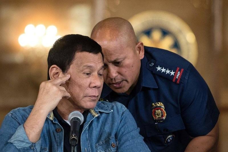 Tổng thống Philippines Rodrigo Duterte từng lập đội đặc nhiệm chuyên truy quét các thành phần cảnh sát phạm tội, đặc biệt trong lĩnh vực buôn lậu ma túy. Ảnh: GETTY IMAGES