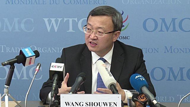 Thứ trưởng Thương mại Trung Quốc Vương Thụ Văn. Ảnh: REUTERS
