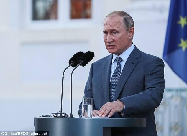 Tổng thống Nga Vladimir Putin có thể sẽ giám sát cuộc tập trận. Ảnh: SHUTTERSTOCK