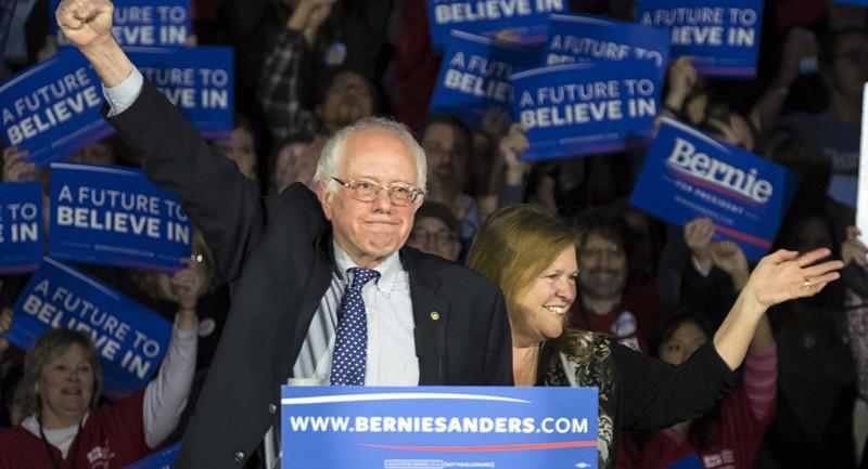 Thượng nghị sĩ Dân chủ Bernie Sanders, ứng viên tổng thống Mỹ 2016 đang dẫn trước ông Trump tới 11% tỷ lệ chiến thắng trong cuộc bầu cử tổng thống Mỹ 2020. Ảnh: AP