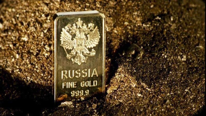 Nga đang tăng trữ vàng để đối phó với trừng phạt của Mỹ. Ảnh: GLP