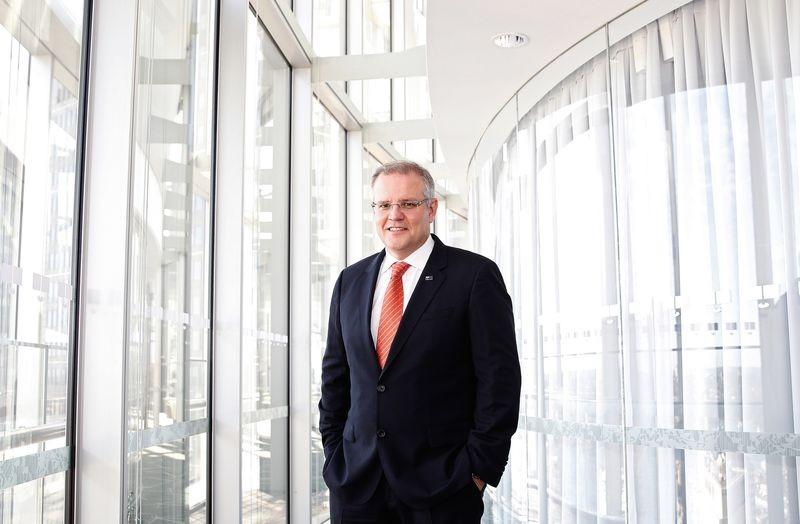 Ông Scott Morrison sẽ là thủ tướng thứ 6 của Úc trong 10 năm nay. Ảnh: BLOMMBERG
