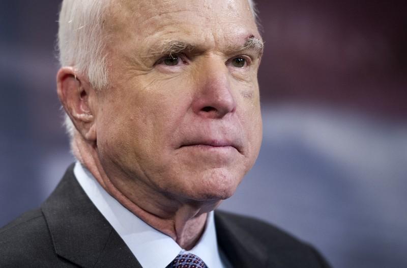 Thượng nghị sĩ McCain vừa qua đời ở tuổi 81 sau hơn một năm chống chọi ung thư não. Ảnh: REUTERS