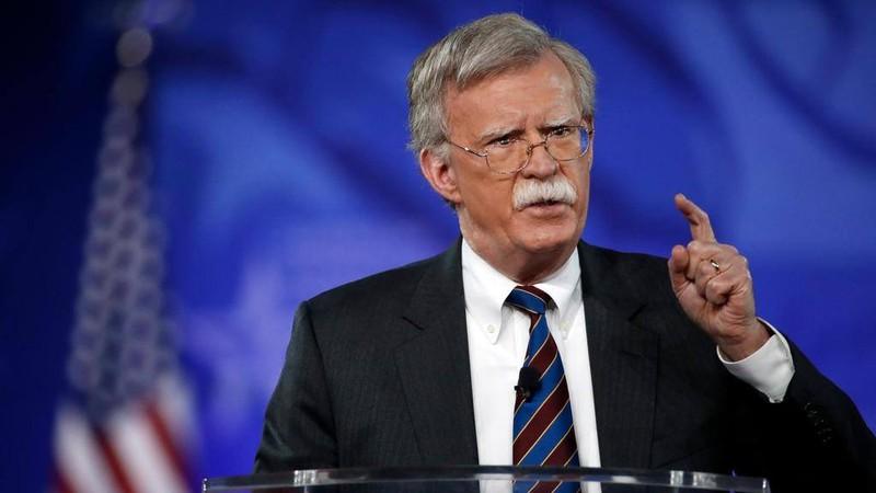 Cố vấn An ninh Quốc gia Mỹ John Bolton cảnh báo Trung Quốc có thể sẽ tìm cách can thiệp vào cuộc bầu cử giữa nhiệm kỳ của Mỹ vào tháng 11 tới. Ảnh: AP