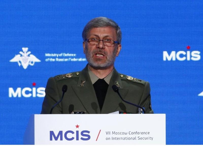 Bộ trưởng Quốc phòng Iran Amir Hatami khẳng định không