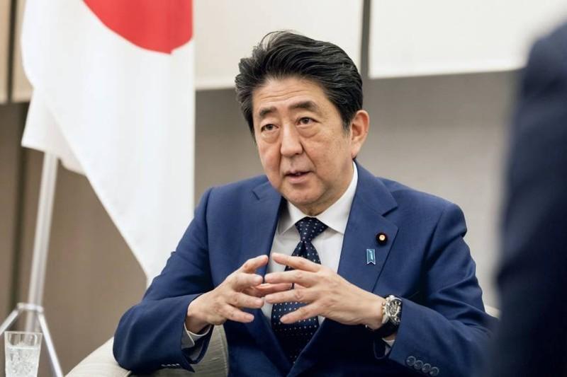 Thủ tướng Nhật Shinzo Abe khẳng định Nhật sẽ không thay đổi lập trường quân sự đối với Triều Tiên cho đến khi Triều Tiên nghiêm túc giải trừ hạt nhân. Ảnh: THE JAPAN TIMES