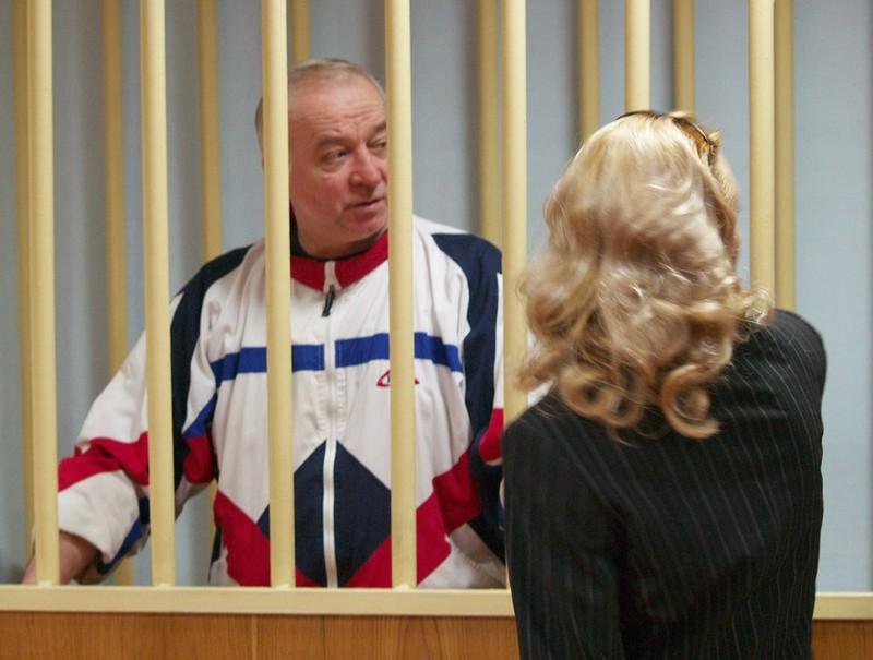 Ông Skripal tại một phiên tòa ở Moscow (Nga) năm 2006. Ảnh: GETTY IMAGES