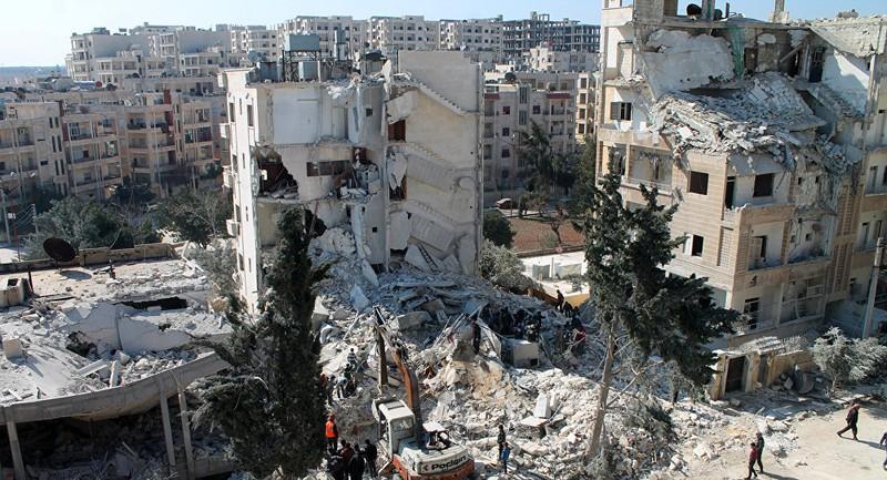Tái chiếm tỉnh Idlib - căn cứ cuối cùng của phe nổi dậy ở Syria – là mục tiêu hàng đầu của chính phủ Assad. Ảnh: AFP