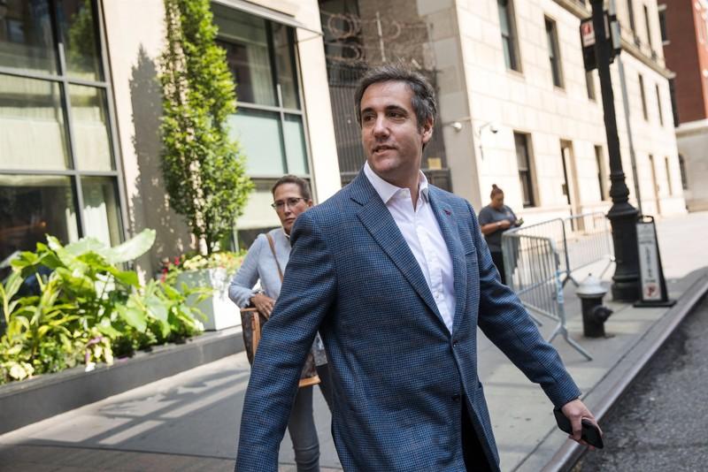 Ông Michael Cohen, cựu luật sư riêng của Tổng thống Mỹ Donald Trump tại New York ngày 27-7-2018. Ảnh: GETTY IMAGES