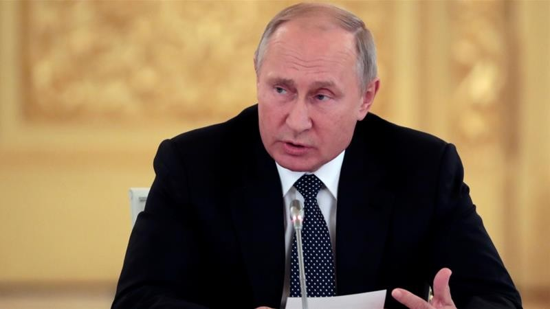 Tổng thống Nga Vladimir Putin khẳng định sẽ có biện pháp đối phó với các nước châu Âu mà Mỹ triển khai tên lửa đến. Ảnh: REUTERS