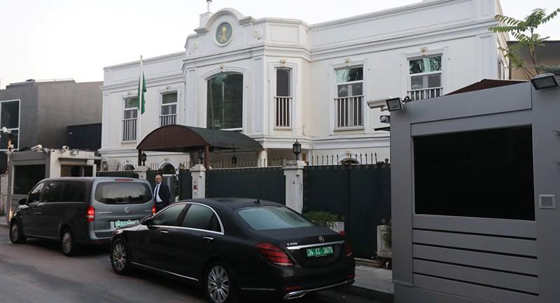 Nơi ở của Tổng Lãnh sự quán Saudi Arabia Mohammad al-Otaibi tại Istanbul (Thổ Nhĩ Kỳ). Ảnh: REUTERS
