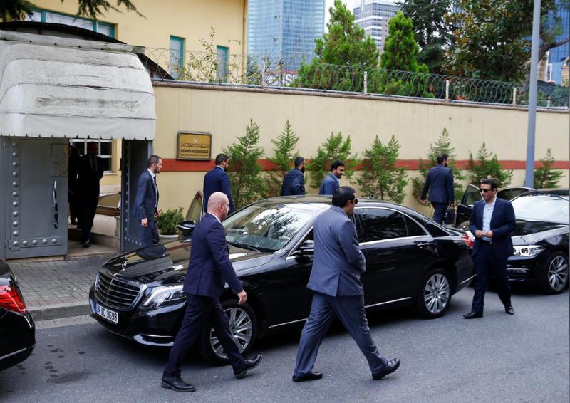 Saudi Arabia định dời lãnh sự quán tại Istanbul (Thổ Nhĩ Kỳ). Ảnh: REUTERS