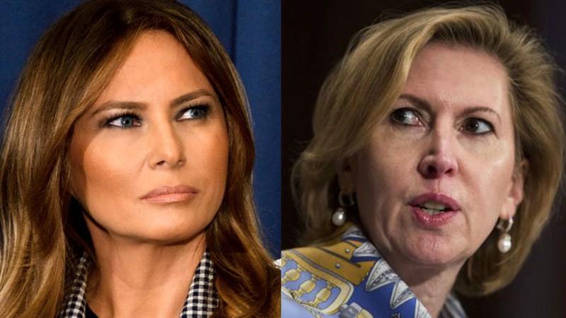 """Nhà Trắng xác nhận Phó Cố vấn an ninh quốc gia Mira Ricardel sẽ ra đi, một ngày sau khi văn phòng Đệ nhất phu nhân Mỹ Melania Trump ra tuyên bố rằng bà """"không xứng đáng phục vụ trong Nhà Trắng"""". Ảnh: NEWDAILY"""