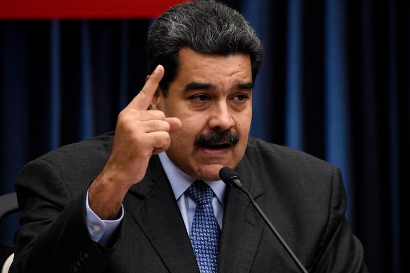 Tổng thống Venezuela Nicolas Maduro ngưng trục xuất các nhà ngoại giao Mỹ và mở ra cánh cửa 30 ngày để thương lượng với phía Mỹ. Ảnh: GETTY IMAGES