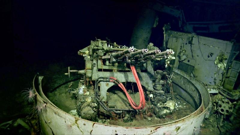 Tìm thấy xác tàu sân bay USS Hornet của Mỹ dưới đáy TBD - ảnh 3