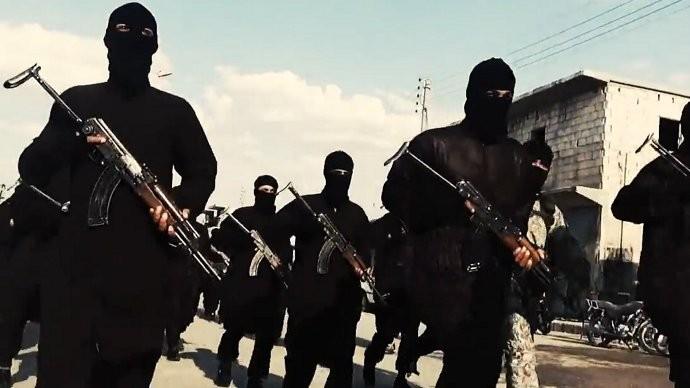 Các tay súng IS ở Syria. Ảnh: TWITTER