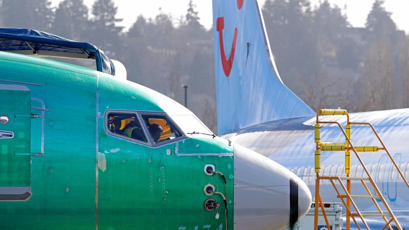 Các chiếc Boeing 737 MAX 8 được sản xuất cho hãng hàng không TUI Airways (Anh) tại nhà báo lắp ráp Renton của Boeing ở TP Renton, bang Washington (Mỹ). Ảnh: AP