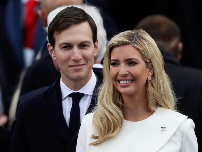 Vợ chồng Ivanka Trump và Jared Kushner – con gái và con rể Tổng thống Mỹ Donald Trump. Ảnh: JAPAN TIMES