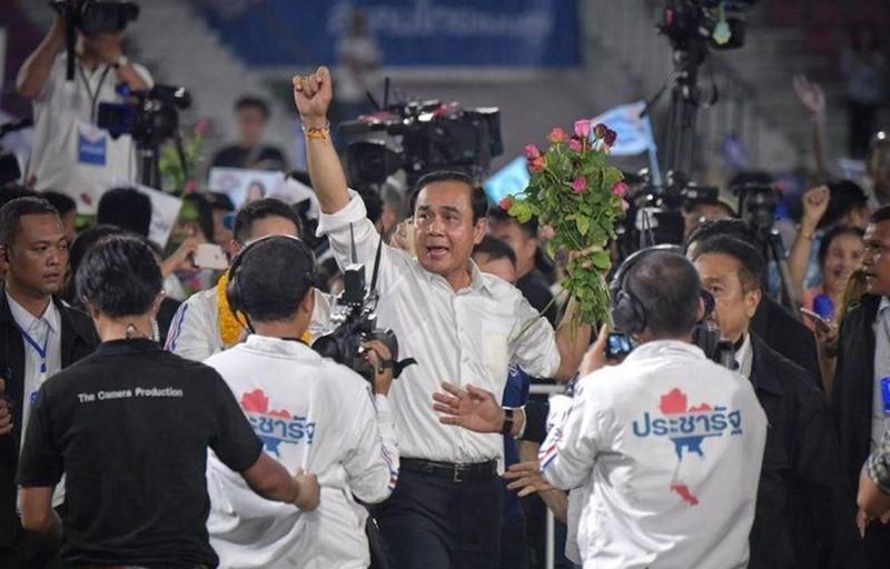 Tướng quân đội, đương kim Thủ tướng Prayuth Chan-o-cha có khả năng sẽ kéo dài quyền lực thêm nhiệm kỳ mới. Ảnh: STRAIT TIMES