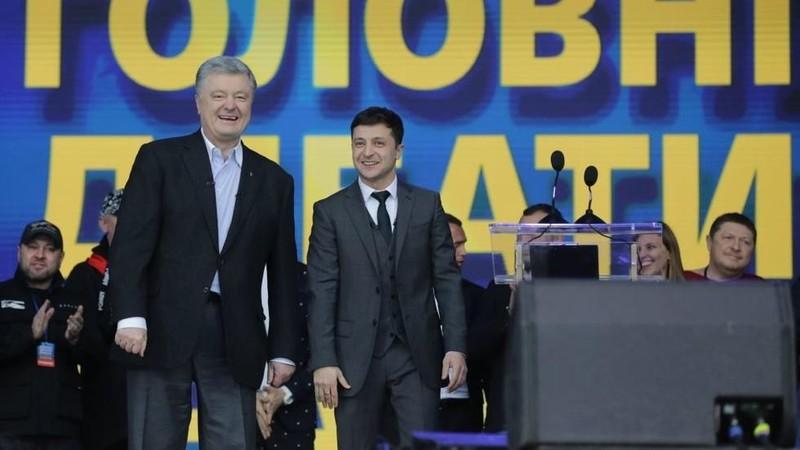 Ông Zelenskiy vượt xa ông Poroshenko thành tổng thống Ukraine - ảnh 3