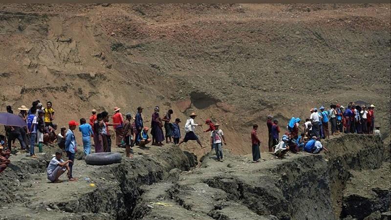 Myanmar: Sập mỏ ngọc bích, 54 người có thể đã chết - ảnh 2