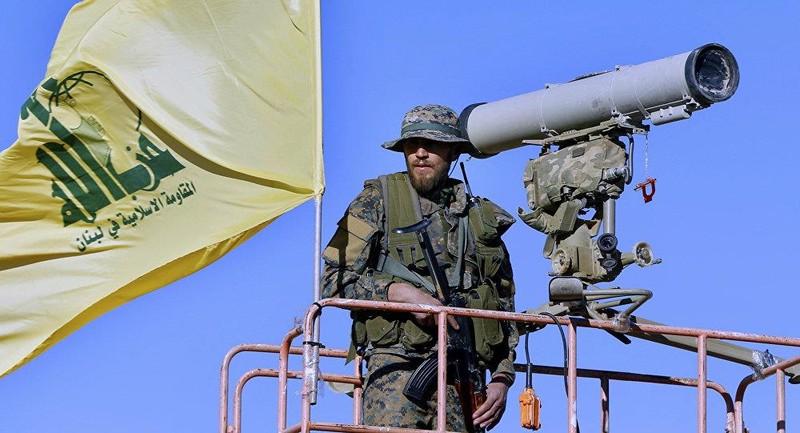 Tay súng Hezbollah. Ảnh: SPUTNIK