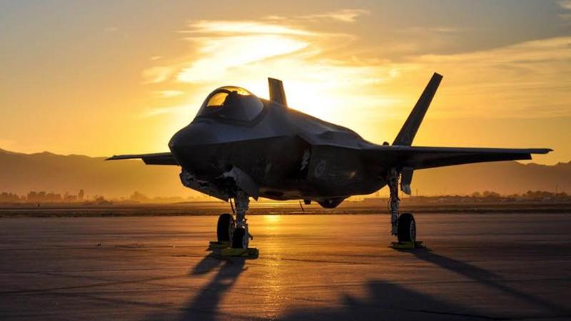 Tiêm kích tàng hình đa năng thế hệ thứ năm F-35 của Mỹ. Ảnh: RT