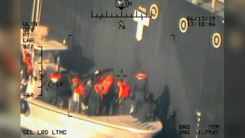 Mỹ công bố hình ảnh mới 'chứng minh' Iran tấn công tàu dầu - ảnh 1