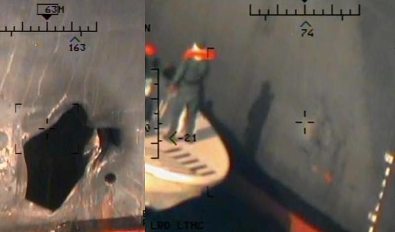 Mỹ công bố hình ảnh mới 'chứng minh' Iran tấn công tàu dầu - ảnh 3