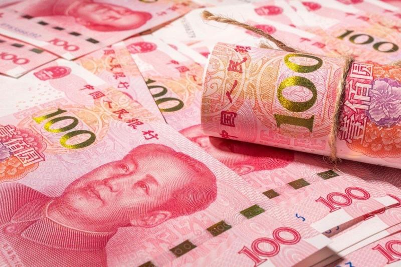 Đồng Nhân dân tệ của Trung Quốc hạ giá đến mức thấp nhất trong tới 11 năm. Ảnh: SCMP