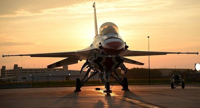 Máy bay chiến đấu F-16 của Mỹ. Ảnh: CCO