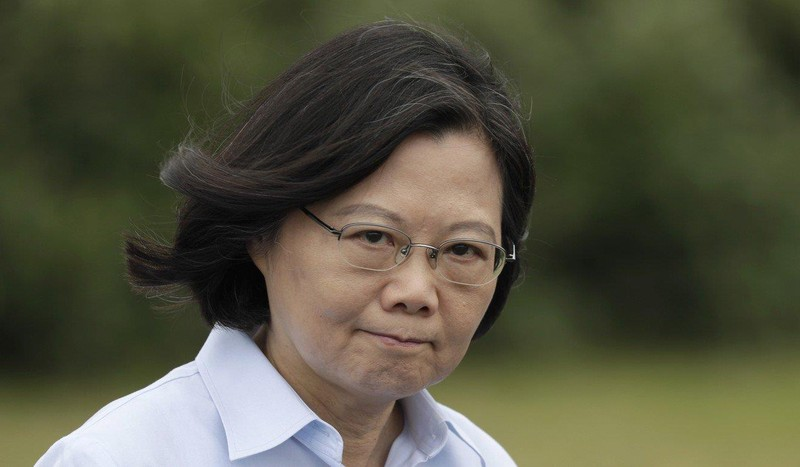 Đặc khu trưởng Hong Kong Lâm Trịnh Nguyệt Nga kêu gọi trả lời nhanh đơn của người Hong Kong muốn sang Đài Loan sống. Ảnh: EPA