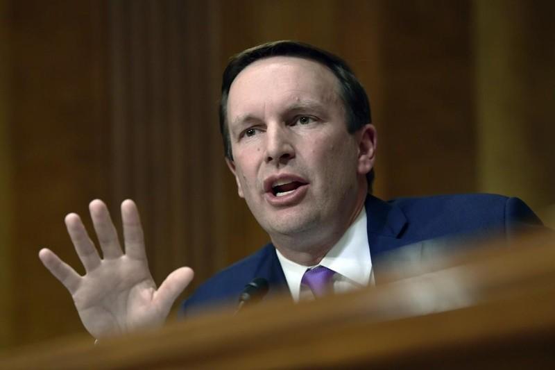 Thượng nghị sĩ Dân chủ Chris Murphy phản ánh Nga từ chối cấp visa cho mình. Ảnh: REUTERS