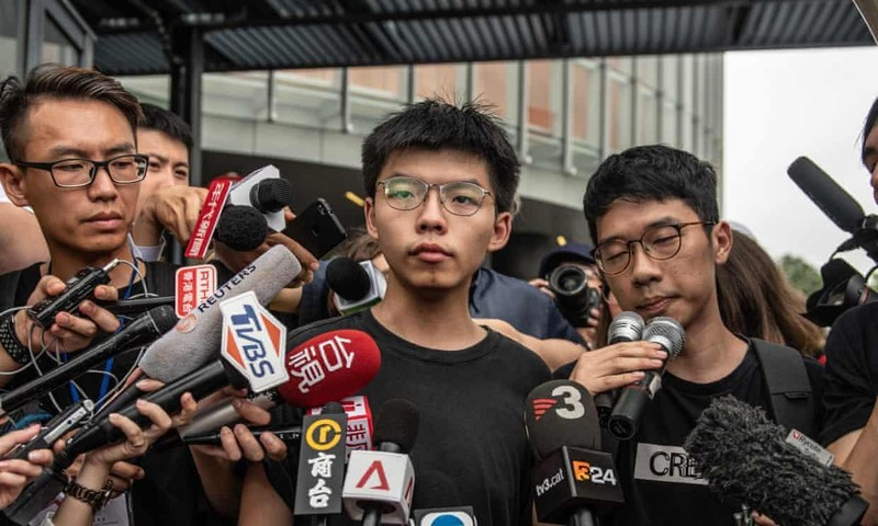 Hong Kong: Hoàng Chi Phong, Trần Hạo Nhiên bị bắt - ảnh 2