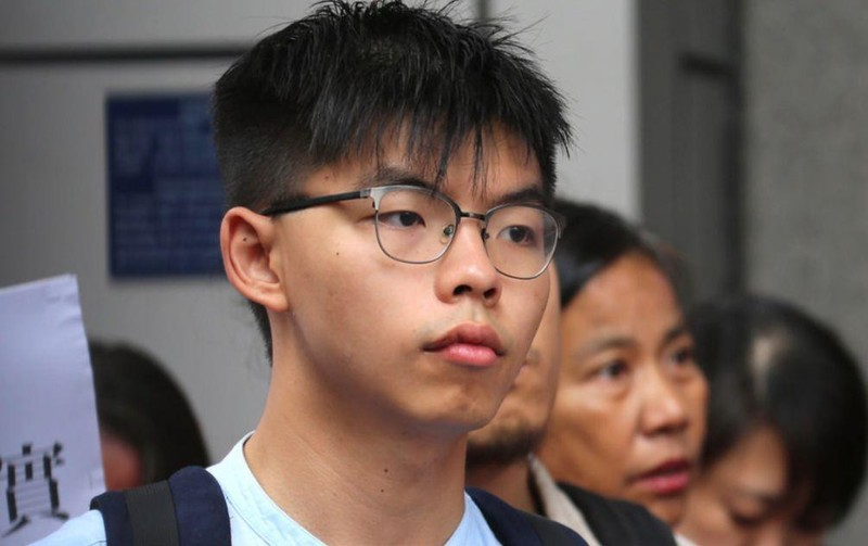 Hong Kong: Hoàng Chi Phong, Trần Hạo Nhiên bị bắt - ảnh 1