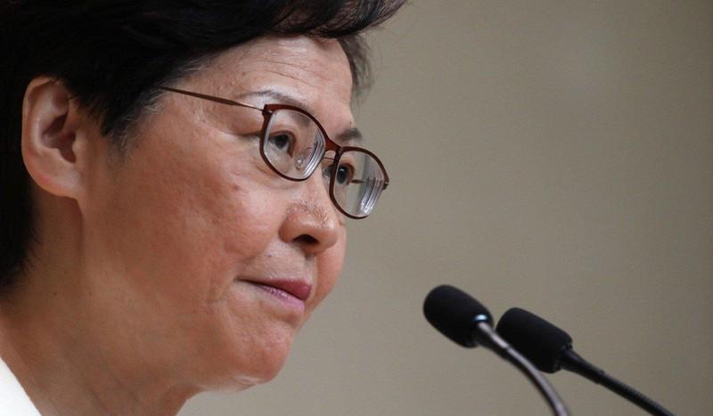 Đặc khu trưởng Hong Kong Lâm Trịnh Nguyệt Nga khẳng định chính phủ Trung Quốc không hề ngăn bà từ chức. Ảnh: SCMP