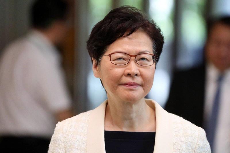 Đặc khu trưởng Hong Kong Lâm Trịnh Nguyệt Nga nói bà vẫn sẽ ở vị trí lãnh đạo đặc khu để giải quyết khủng hoảng chính trị. Ảnh: SCMP